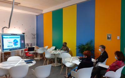 Visio au Learning Lab AFPP entre les Responsables des formations E2C et AFPP et la startup d'État Diagoriente